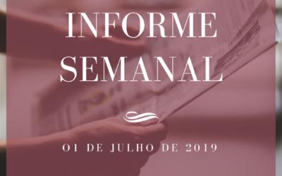 Informe semanal 01-07-2019