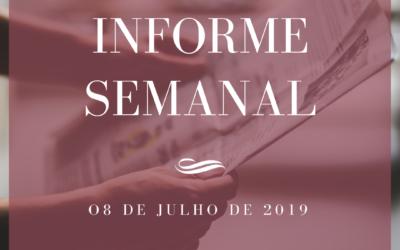 Informe semanal 08-07-2019